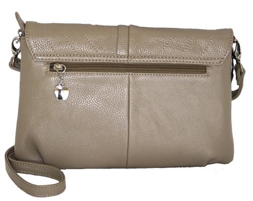592bf247c5bd Описание: Женская сумка торговой марки Malgrado из натуральной кожи.  Основной отдел на молнии, на задней стенке карман на молнии на передней два  кармашка ...